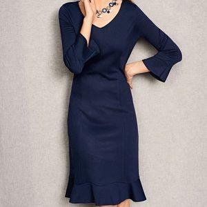 NWT Talbots Refined Ponte Sheath Dress Size 16P